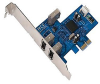 Belkin FireWire 3-Port PCI Express Card - FireWire adapter - -- F5U504