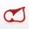 Ratchet Style Pinch Clamp, Red -- 14106 -Image