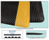Corrugated Matting -- HWR-BK72 -Image