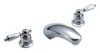 Symmons Two Handle Lavatory Faucets (Widespread) -- S-244-LAM