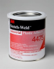 3M™ Scotch-Weld™ Industrial Plastic Adhesive 4475 Clear, 1 Quart, 12 per case -- 4475