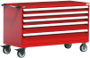 Heavy-Duty Mobile Cabinet, with Partitions -- R5BKE-3011 -Image