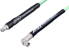 SMA Male Right Angle to SMA Female Low Loss Cable 150 cm Length Using PE-P142LL Coax, RoHS -- PE3C2305-150CM -Image