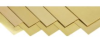 Brass Shim Stock Assortment, 150mm x 300mm (Pack of 10) -- 17999