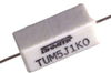 Ceramic Housed Axial Terminal Power Resistor -- TUM/TUW Series - Image