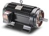 AC MOTOR 0.25HP 1800RPM 56C 230/460VAC 3-PH ROLL-STEEL BLACKMAX -- Y592 - Image