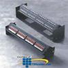 Sprint 24 Port High Density Patch Panel - Cat 5e/T568B -- 442009