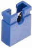 2 Pos. Female Jumper Socket, Open Shunt, Blue -- M7583-46 -- View Larger Image