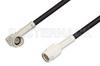 SSMA Male to SSMA Male Right Angle Cable 12 Inch Length Using RG174 Coax -- PE36569-12 -Image