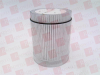 EATON CORPORATION E26-B0V2 ( STACKLIGHT LENS AND DIFFUSER UNIT, W/24V BULB, CLEAR ) - Image