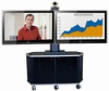 Video Furniture Int'l Package E - Dual Monitor Mount and Monitor Cart for 32