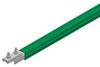 Safe-Lec 2 Conductor Bar 315A AL/SS, Green PVC Cover, w/ Splice Joint, 4.5M -- XA-310702-J