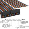 Rectangular Cable Assemblies -- A1DXH-4036M-ND -Image