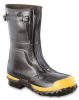 Servus 21622 Black 5 Electrical Safety Boots - 12 in Height - Rubber Upper, Rubber Sole and Steel Toe Cap - 21622 SZ 5 -- 21622 SZ 5 -Image