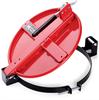 PIG Latching Drum Lid Red For Steel, For 5 gal., 8 gal., 10 gal., 16 gal., Fast Connecting Latching & Locking Drum Lids DRM167-RD -- DRM167