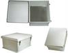 18x16x8 Inch Weatherproof NEMA 4X Enclosure with Blank Aluminum Mounting Plate -- NB181608-KIT -Image