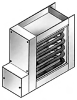 Flanged Air Duct Heater -- DFT