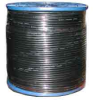 1000' RG6/U PVC Quad Shield Bulk Coax Cable -- 72-935