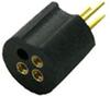 Laser Diode Socket, 2.0mm Pitch circle, Solder Dip, 3Pin -- LD200-3P-xx - Image