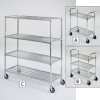 RELIUS SOLUTIONS Square-Post Wire Trucks and Carts -- 4764000