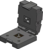 Test Socket, GU29 Frame / QFN pkg, Size 29x30.6mm / 1.14