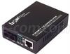 L-com Ethernet Media Converter 10/100TX to 100FX SM SC 25km -- LCMC-SA-25 - Image