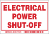 Electric Power Shutoff Labels -- 86199
