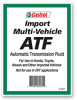 Import Muti-Vehicle ATF -- 16001 - Image