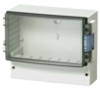 Flanged & Wall Mounted Cases Enclosure -- ABS 21/18-3 - Image