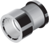 Adapters & Fittings - SAE Threaded Flanged Heads - NPTF -- 61 Series
