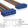 Rectangular Cable Assemblies -- C8PPS-1618M-ND -Image