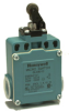 MICRO SWITCH GLE Series Global Limit Switches, Top Roller Arm, 1NC 1NO Slow Action Break-Before-Make (BBM), PG13.5, Gold Contacts -- GLEB33D -Image