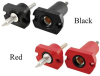 High Current Socket Pin, Panel Mount -- UJNL895x-M08-Lxx-x -Image