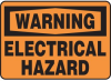 Warning Electrical Hazard Sign -- SGN608