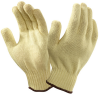 Ansell Goldknit 70-225 Yellow 8 Kevlar Cut-Resistant Glove - ANSI 3 Cut Resistance - Uncoated - 076490-22126 -- 076490-22126