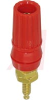 Binding Post; Insulated Binding Post; Gold; Molded Polycarbonate; Red; -- 70211145