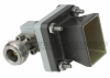 WR-62 Standard Gain Horn With N Female Input and 10 dB Typical Gain Operating Within 12.4 GHz to 18 GHz Frequency Range -- SMH162NR-10 -Image