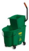 Rubbermaid WaveBrake® Color-Coded Combos - 35 Quart - Green -- RM-758888GRE