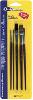 RUBBERSET QUICK SOLUTIONS ARTIST BRUSHES 5 PC UTILITY BLISTER CARD 1 ea -- 991910000 -- View Larger Image