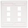 Datacommunication Face Plate -- IFP26W - Image