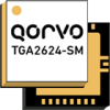 9 - 10 GHz, 20 Watt GaN Power Amplifier -- TGA2624-SM -Image