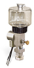 """(Formerly B1763-14X01), Single Feed Electro Lubricator, 5 oz Polycarbonate Reservoir, 5/8""""-18 Thread for Remote Mounting, 1/8"""" Female NPT Outlet, 120V/60Hz -- B1763-0051B1S51206W -- View Larger Image"""