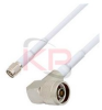 Reverse Polarity SMA to Right Angle N-Male LMR 195 Cable -- KPPA-SMA-N-6-R -Image