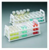 Test Tube Stand PP WHITE 25-30mm Diam -- 4AJ-9194590 - Image