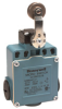 Global Limit Switches Series GLS: Side Rotary With Roller - Conveyor, 1NC 1NO Slow Action Break-Before-Make (B.B.M.), 0.5 in - 14NPT conduit -- GLEA03A9A