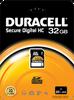 Standard SDHC – 4 to 32GB