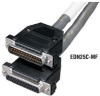 Extended-Distance Data Cable with Removable Hoods, 12 Conductors (6 Pairs), 200-ft., F/F -- EDN12C-0200-FF