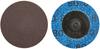 Norton Metalite AO Coarse TR (Type III) Quick-Change Cloth Disc -- 66261121023 -Image