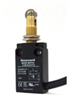 Global Limit Switches Series 91MCE: Panel Mount Roller Plunger, 1NO 1NC Direct Opening Slow Action Break-Before-Make (B.B.M.), 2M Cable - Side Exit -- 91MCE28-S2-Image