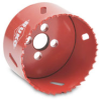 Hole Saw: bi-metal HSS, 2-3/4 inch (70mm) diameter -- 106070 -- View Larger Image